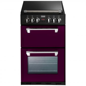 Stoves Richmond 550DFW Dual Fuel Mini Range Cooker Wild Berry