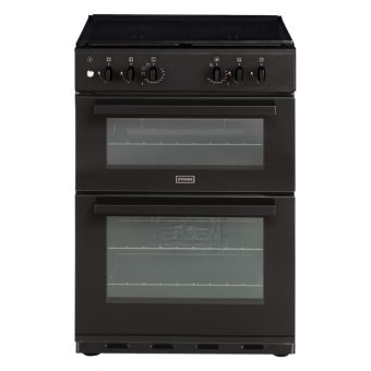 Stoves SDF60DO Dual Fuel Cooker Black