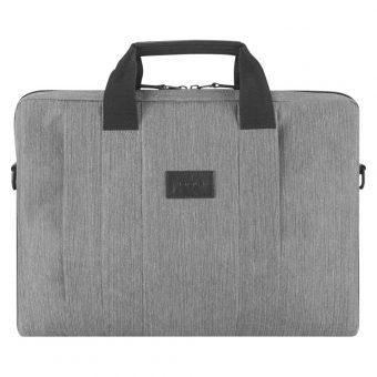 """Targus City Smart Slipcase 15.6"""" Laptop Messenger Bag Grey"""