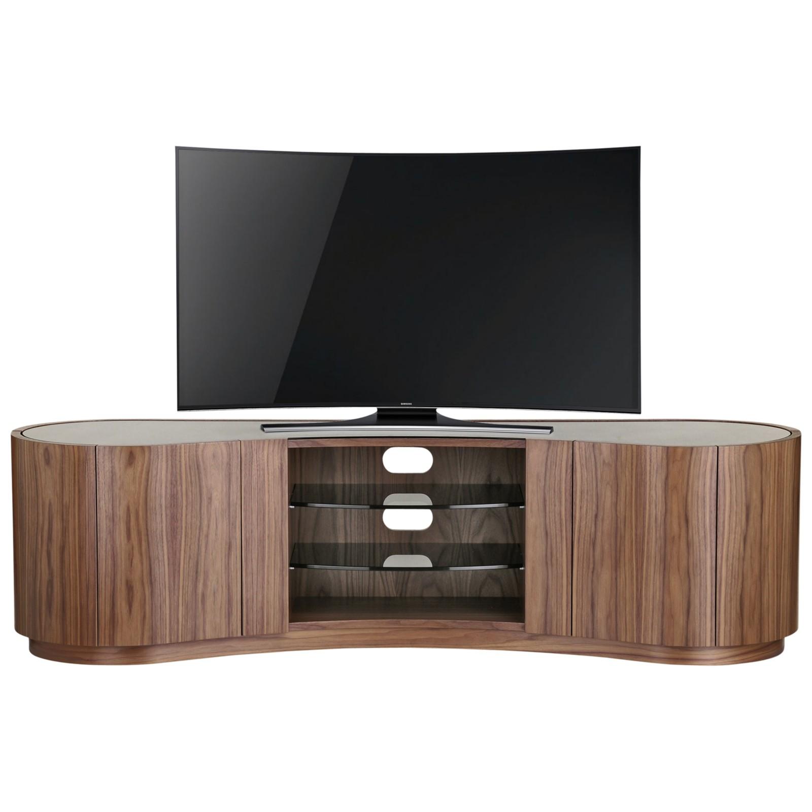 "Tom Schneider Swirl Deluxe 1800 For TVs Up To 75"" Natural walnut"