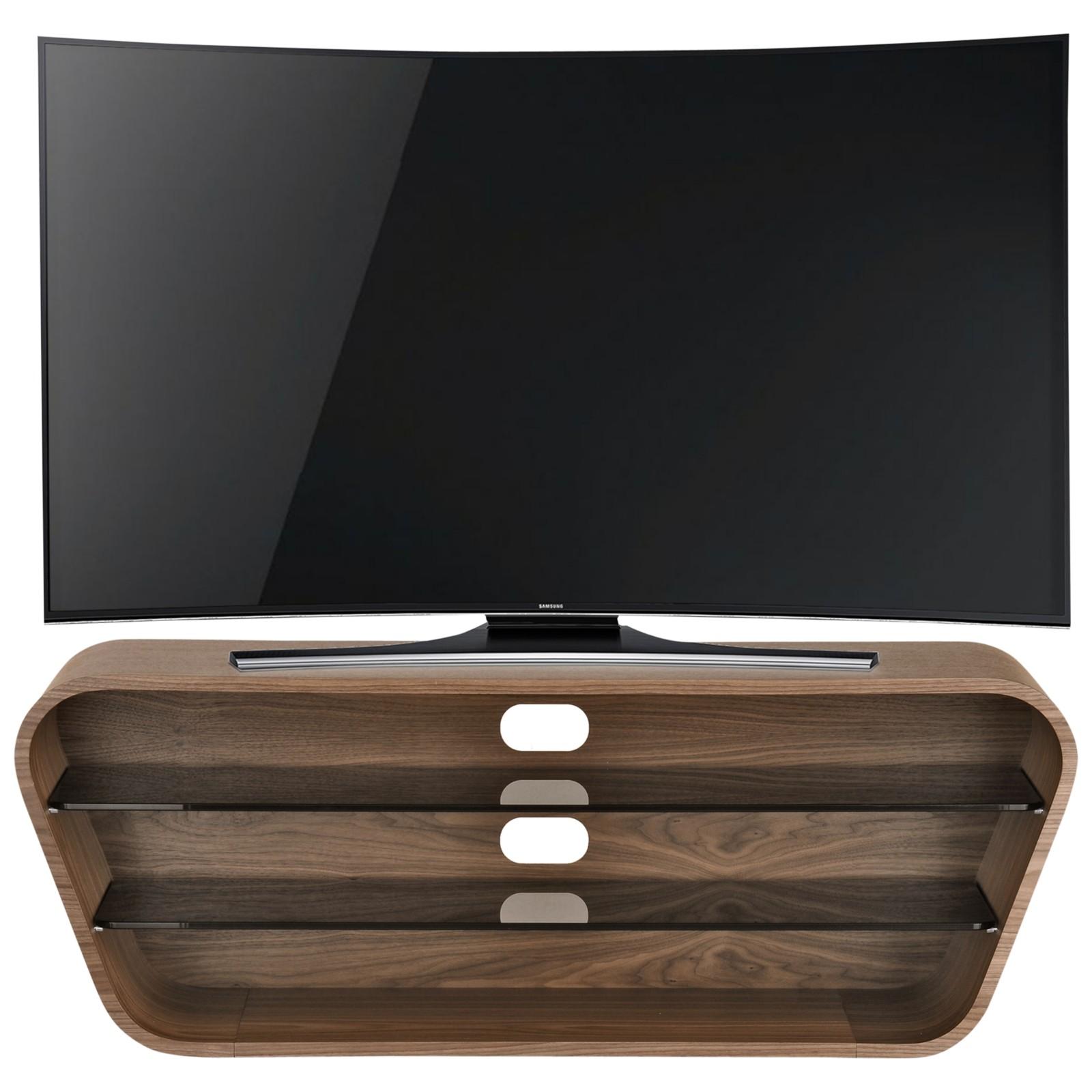 "Tom Schneider Swish 1200 TV Stand For TVs Up To 50"" Natural walnut"