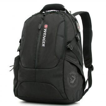"""Wenger WL1195BK 17"""" Laptop and Tablet Backpack"""