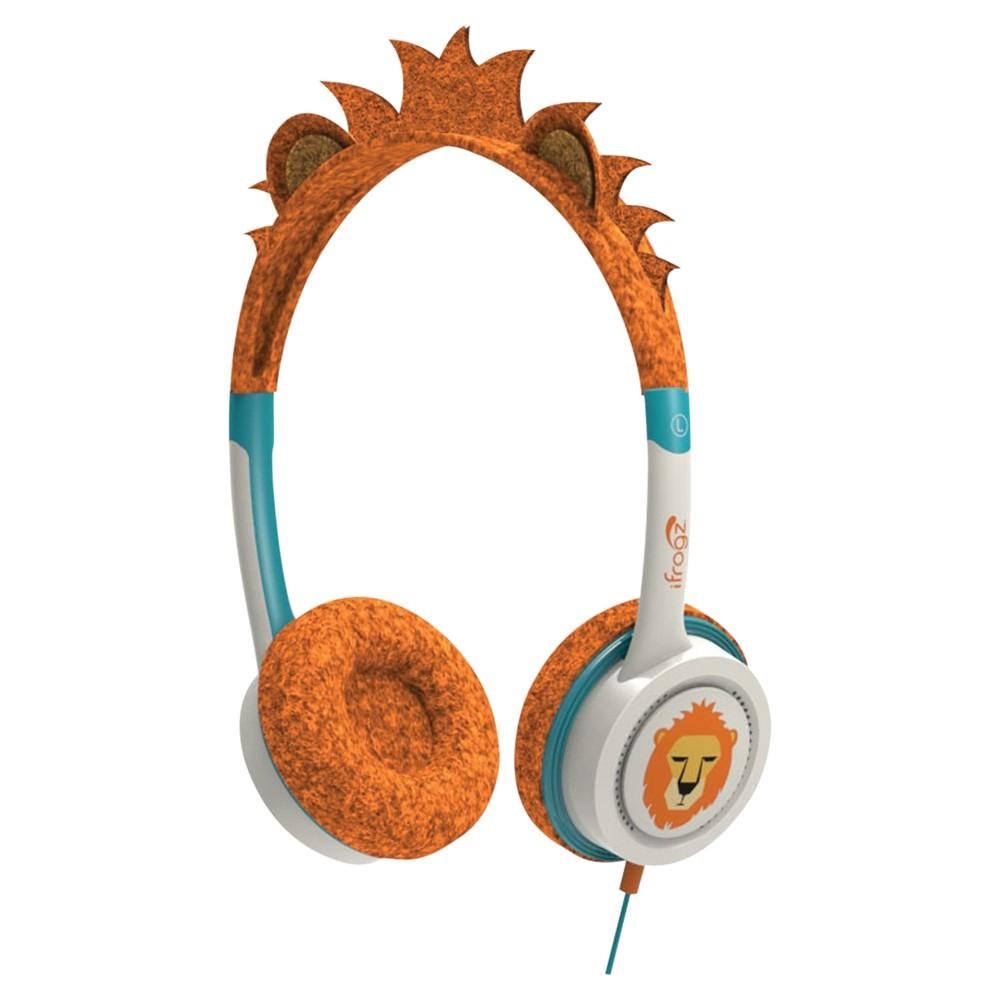 ZAGG ifrogz Little Rockerz Children's Volume Limiting On-Ear Headphones Lion