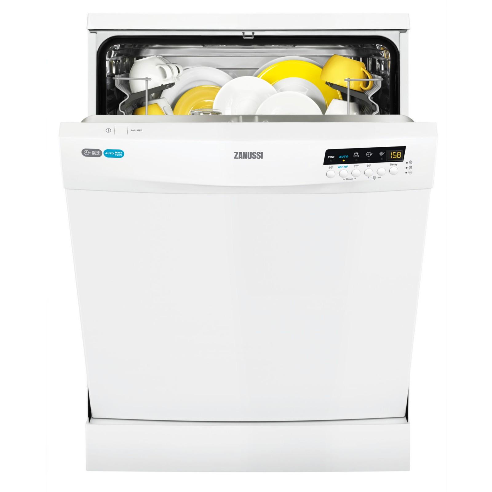 Zanussi ZDF26001WA Freestanding Dishwasher