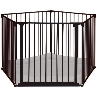 BabyDan Baby Playpen With Wall Fittings