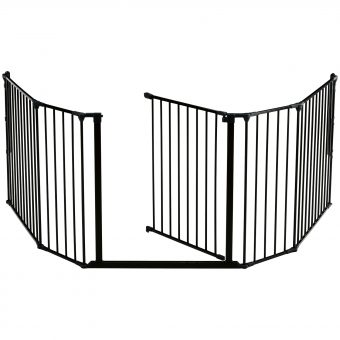 BabyDan XL Fire Surround/Configure Gate