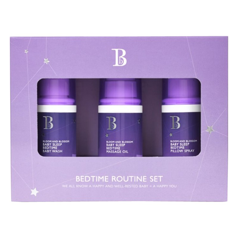 Bloom and Blossom Baby Sleep Bedtime Routine Trio Set
