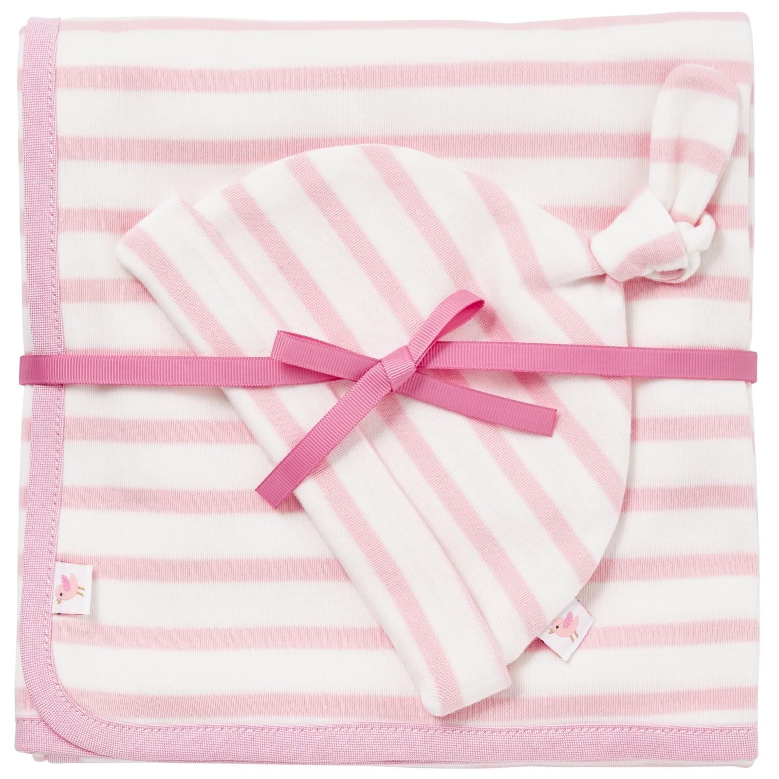 Baby Gift Set John Lewis : John lewis baby blanket and hat set pink by