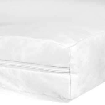 John Lewis Micro-Fresh Anti Allergy Small Cotbed Mattress Protector