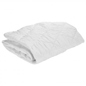 John Lewis Micro-Fresh Easy Care Cotbed Mattress Protector
