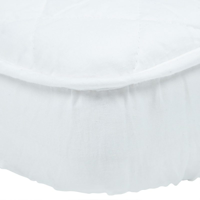 John Lewis Micro-Fresh Quilted Cotton Cotbed Mattress Protector