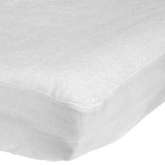 John Lewis Micro-Fresh Towelling Cotbed Mattress Protector