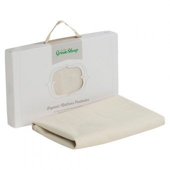 The Little Green Sheep Bedside Crib Waterproof Mattress Protector