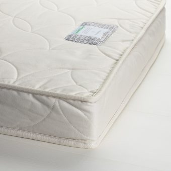 The Little Green Sheep Natural Twist Cotbed Mattress